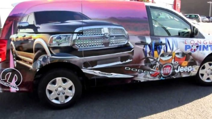 Caravan Wrapping quattro ruote