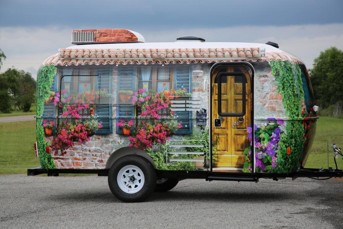 Caravan Wrapping Rew Wrapping Azienda Di Latina