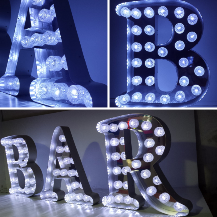 Insegne luminose a Led per bar