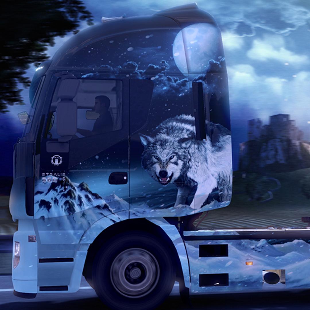 Wrappign camion esempio di una pellicola personalizzata